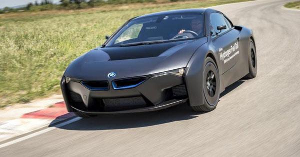 BMW طرح مفهومی سلول سوخت هیدروژنی i8 را معرفی کرد
