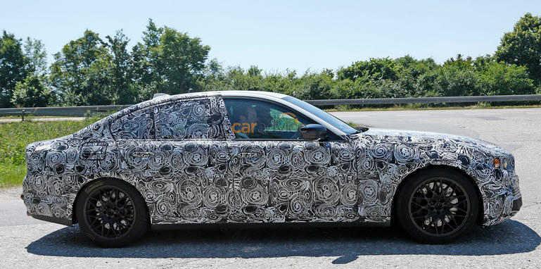 تصاویر جاسوسان خبر از BMW M5 جدید میدهند