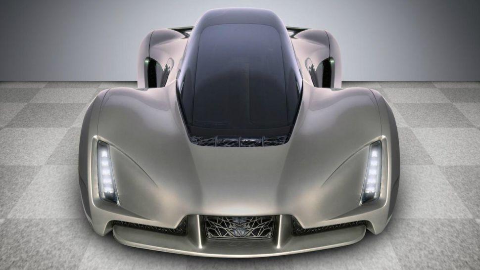نخستین سوپر اتومبیل چاپ شده با پرینتر سه بعدی را ببینید!