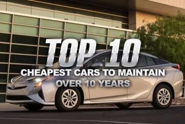 ۱۰ خودرویی که طی مدت ۱۰ سال کمترین هزینه نگهداری را دارند