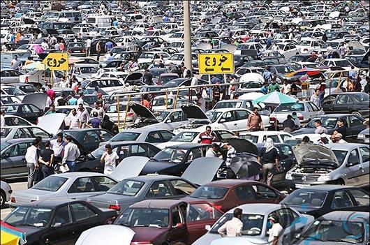 بازار خودرو قیمت خودرو در بازار آزاد خرید خودرو در نیمه دوم 97 فروش خودروی کارکرده بازار خودرو