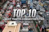 ۱۰ شهر پر ترافیک و شلوغ دنیا