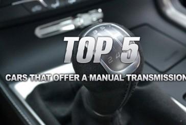 ۵ خودروی دوستداشتنی با گیربکس دستی!