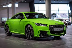 فیلم روند تولید 2017 Audi TT RS را ببینید!