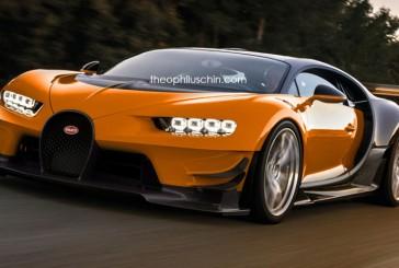 بوگاتی شیرون سوپر اسپورتی با چشم انداز GT Vision!