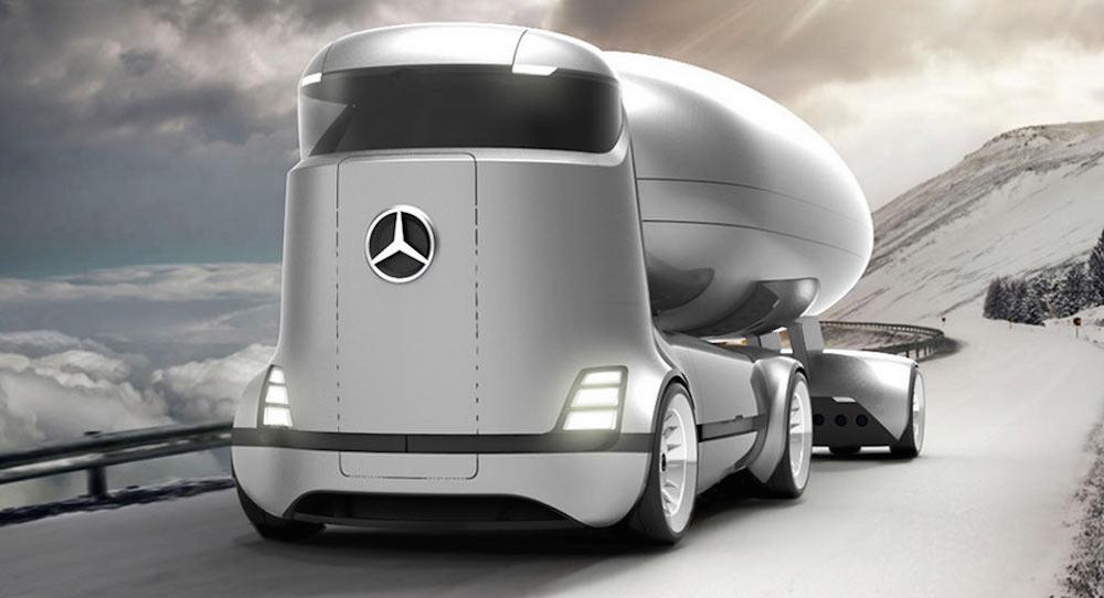 پیش به سوی آینده خودروهای سنگین وزن با کامیون برقی مرسدس بنز! - چرخان