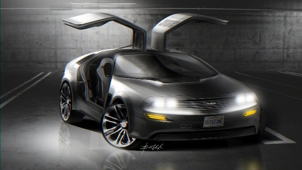 delorean-dmc21-concept