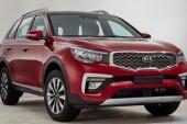 KX7 شاسی بلند ارزان قیمت کیا در راه چین