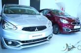 خودروهای میتسوبیشی و DS در نمایشگاه خودروی تهران
