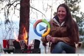 روش روشن کردن راحت آتش در طبیعت + فیلم