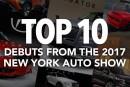 ۱۰ خودروی برتر نمایشگاه خودروی نیویورک ۲۰۱۷