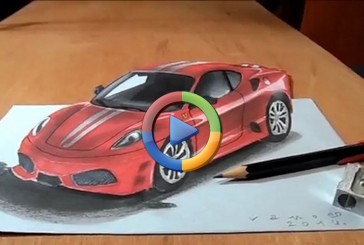 طراحی سه بعدی یک فراری رو ببینید! (فیلم اختصاصی)