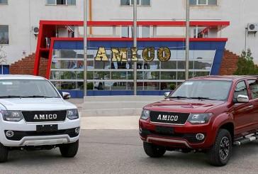 آمیکو با یک کمپانی چینی برای تولید پیکاپ، هم پیمان شده است