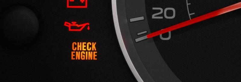 چراغ هشدار موتور