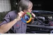 با دود سیگار، نشتی هوای موتور را رفع کنید! (ویدئوی اختصاصی)