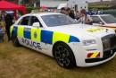 رولز رویس یکی از خودروهای مدل گوست خود را به خودرو پلیس تبدیل کرد!