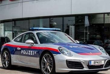 پیوستن پورشه 911 carrera به نیروی پلیس اتریش!