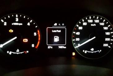 بعد از روشن شدن چراغ اخطار بنزین چقدر میتوان رانندگی کرد؟
