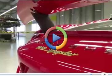 نگاهی به مونتاژ پورشه ۹۱۸ اسپایدر ( ویدئوی اختصاصی)