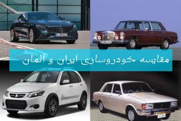 مقایسه خودروسازی ایران و آلمان: از خیانت تا عدالت!