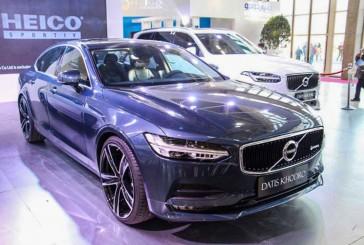 داتیس خودرو ولوو S90 هیکو اسپورتیو را در نمایشگاه خودروی تهران رونمایی کرد!