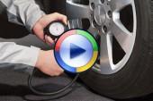 تنظیم باد مناسب تایر خودرو برای انواع جادهها! (ویدئوی اختصاصی)