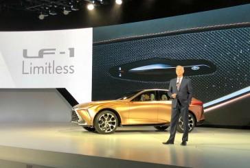 یکی از مدیران لکسوس خواهان تولید خودروی مفهومی لکسوس LF-1 است!