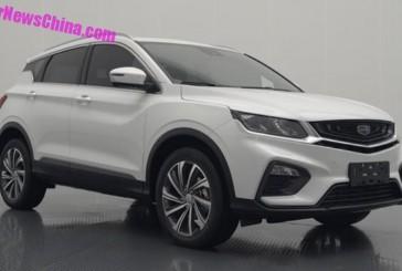 مشخصات فنی خودرو SUV جیلی SX11 فاش شد