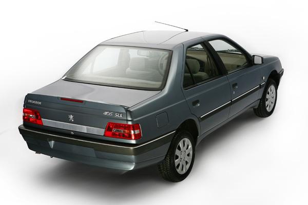 خودروهای داخلی پژو 405