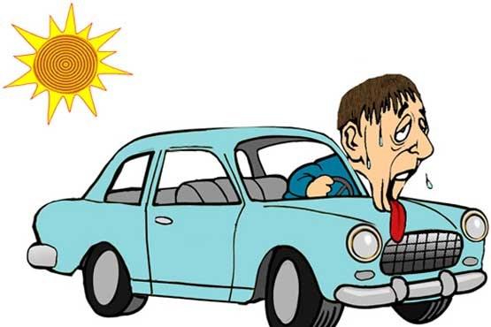 بخاری خودرو