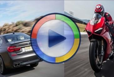 مسابقه درگ بیامو M760Li و موتورسیکلت دوکاتی پانیگاله V4 (ویدئوی اختصاصی)