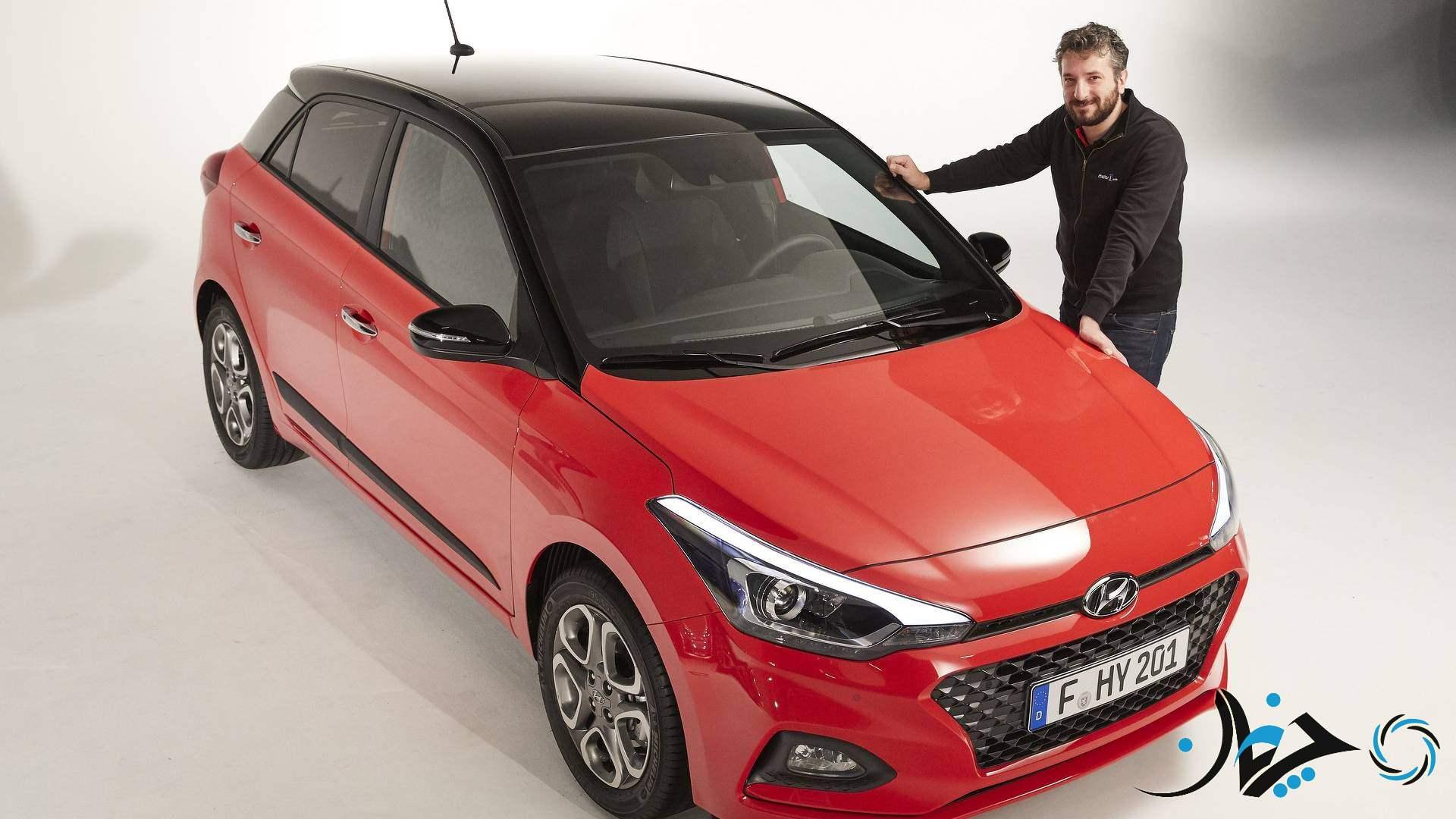 هیوندای i20 اکتیو مدل 2018 رونمایی شد