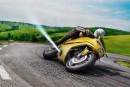 بوش قصد دارد از خروجیهای جانبی در موتورسیکلتها استفاده کند