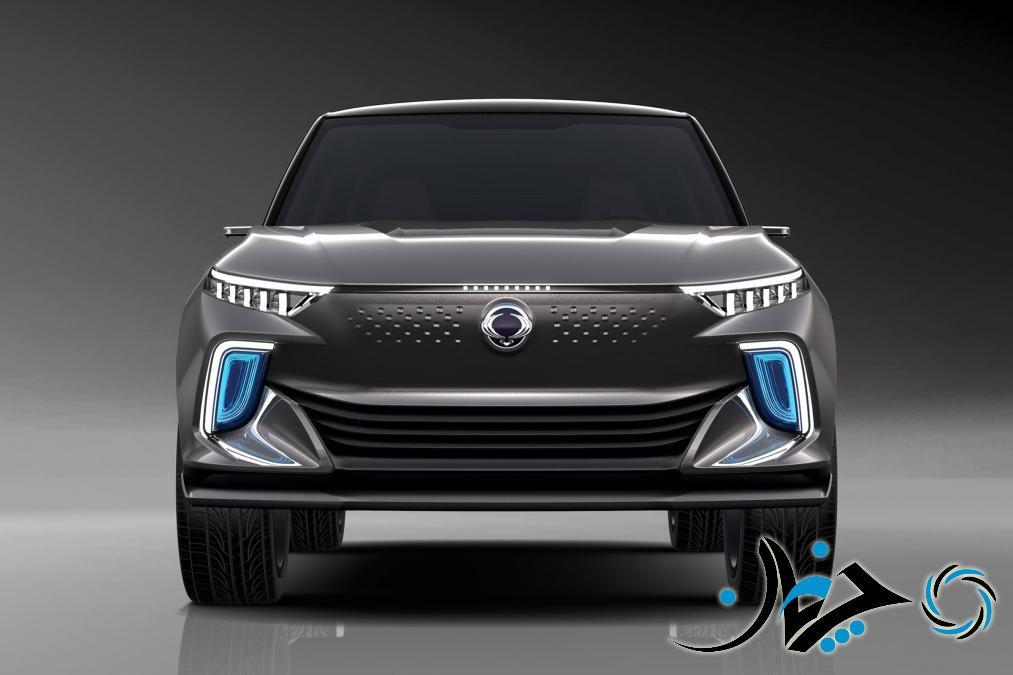 SsangYong e-SIV Concept + سانگ یانگ کوراندو برقی به بازار عرضه میشود