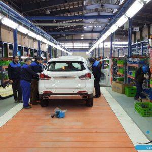 خط تولید هن تنگ در بروجرد راه اندازی شد؛ تولید شاسی بلند در دیار لرستان + تصاویر