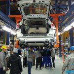 تولید اولین خودروی هن تنگ در کارخانه عظیم خودرو در بروجرد