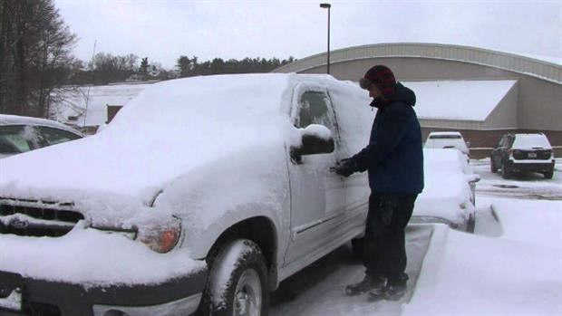 یخ زدگی قفل خودرو