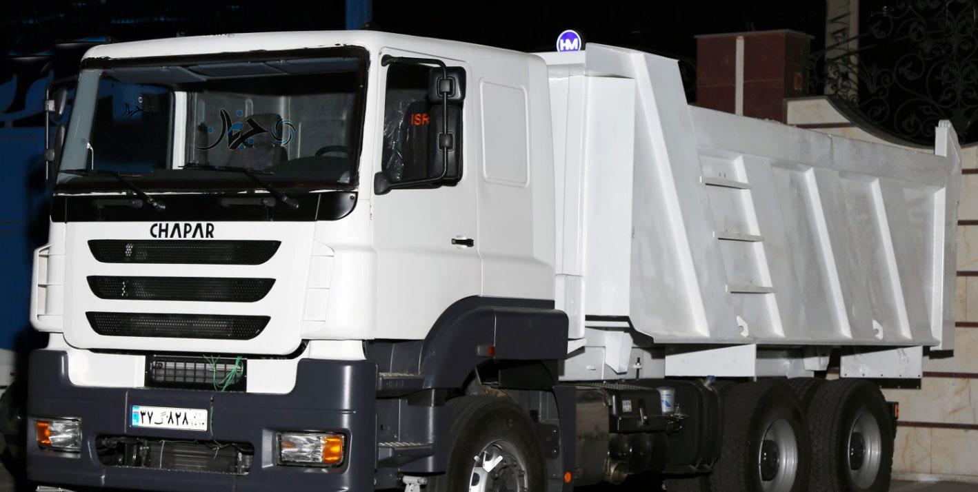 اولین کامیون ایرانی چاپار به تولید رسید